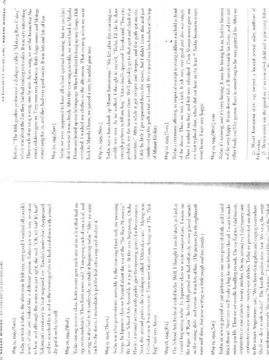 Literary Analysis of Anne Frank and Nakane Mihoko | US-China