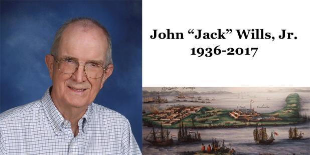 John E. Wills, Jr. USC historian, 1936-2017