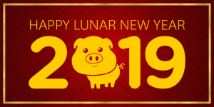 USC US-China Institute 2019 Year of the Pig Banner