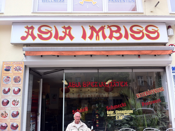 Asia Imbiss In Berlin Germany