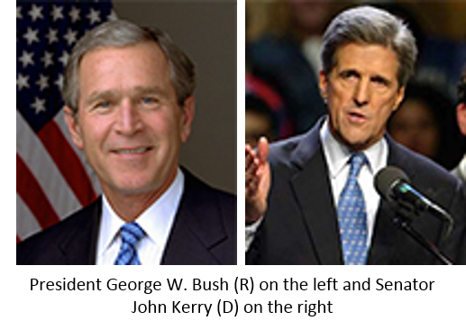 an analysis of the president george bush versus senator john kerry Conservative group engages in class warfare vs kerry  massachusetts senator john kerry hair-style by christophe's: seventy-five dollars  george w bush president gives tour of crawford.
